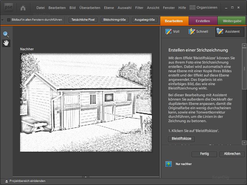 Photoshop elements 7 hintergrund transparent